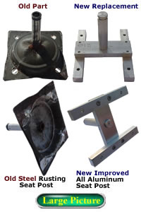 Swivel Amp Rocker Chair Parts