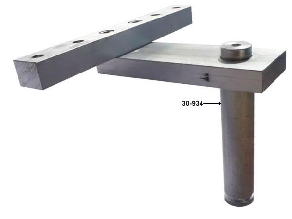 30 934 Heavy Duty Aluminum Rocker Plate Swivel Seat Post