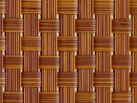 T91B5W075 Bamboo TEXTILENE® Wicker Fabric