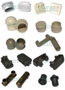 Outdoor Furniture Parts Snap Rivets Glides Inserts And