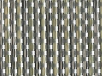 Aluminum Phifertex® Cane Wicker Fabric