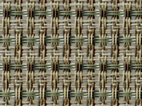 Cortez Thyme Phifertex® Cane Wicker Fabric