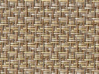 Reflection Taupe Phifertex® Cane Wicker Fabric
