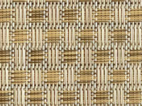 Veranda Nutmeg Phifertex® Cane Wicker Fabric