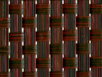 T91B5W073 Mahogany Textilene® Wicker Fabric