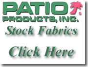 Patio Products Stock Fabrics