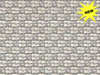 FP-078 - 00V-3009605 Sisal Aluminum Phifertex® Wicker Weave Fabric