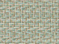 Reflection Seaglass Phifertex® Cane Wicker Fabric