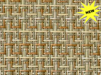 FP-079 - XZT-3028988 Shelburne Taupe Phifertex® Wicker Weave Fabric