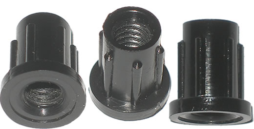 "30-410 - Nylon 1/4-20 Thread Insert fits 3/8"" hole"