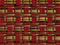 T91B5W135 Redwood Textilene® Wicker Fabric